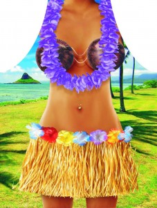 Fartuch kuchenny Hawaii woman